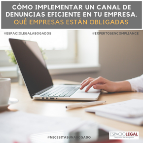 Whistleblowing o canal interno de denuncia.